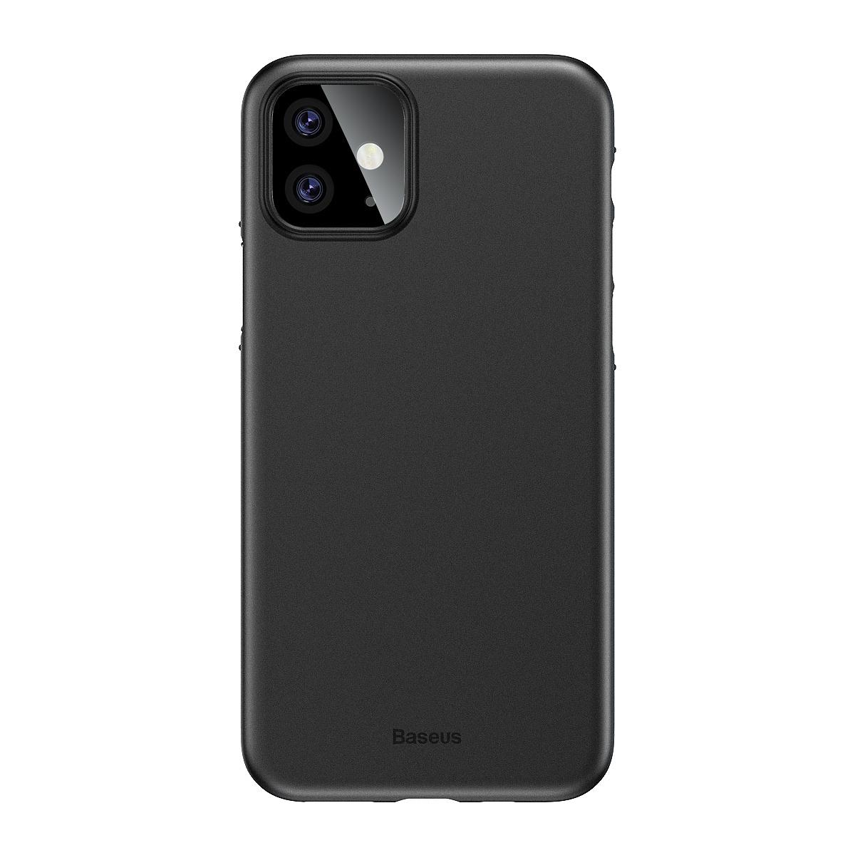 Baseus Wing ultratunt skal, iPhone 11, svart