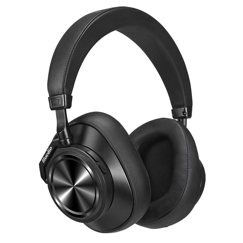 Bluedio T7+ On-ear hörlurar, SD slot, svart