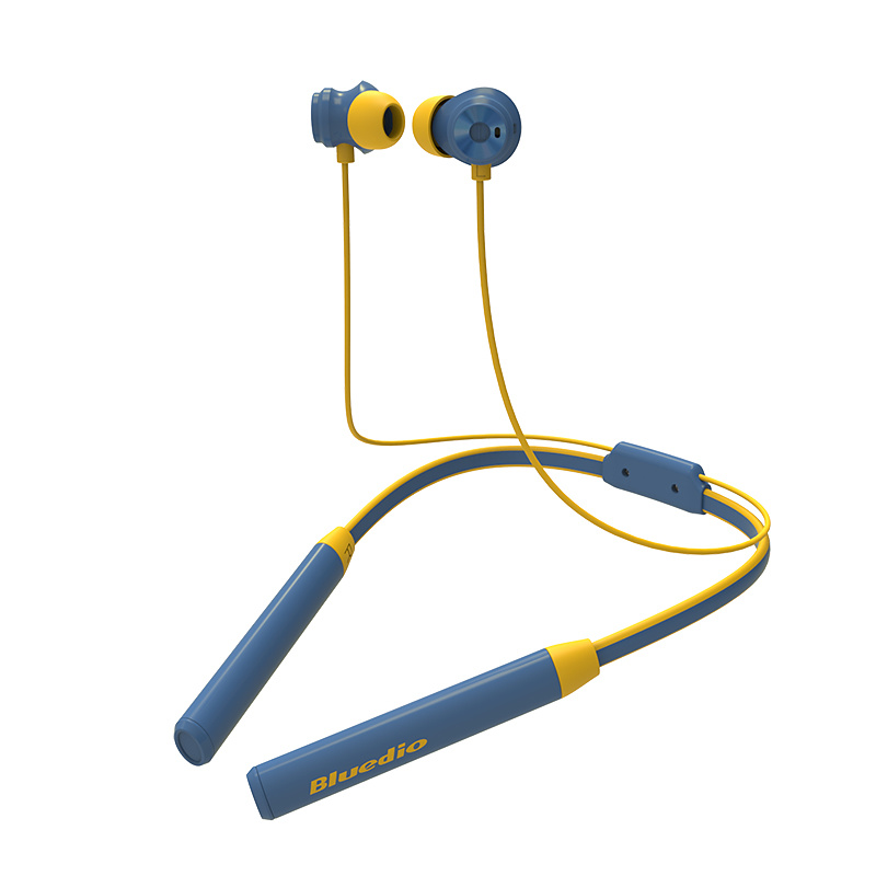 Bluedio TN2, bluetooth, In-Ear med nackband, gul