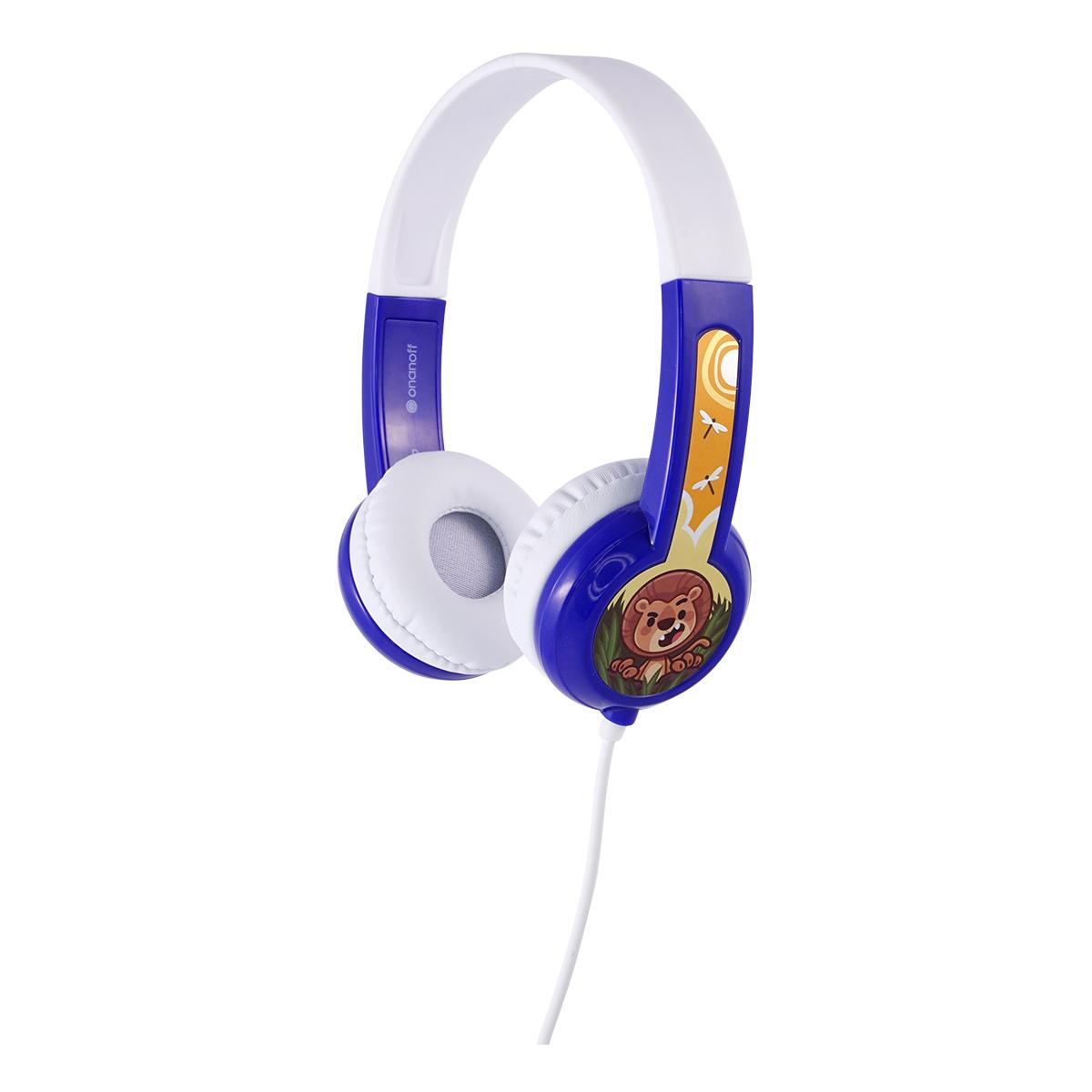 BuddyPhones Discover barnhörlurar, blå