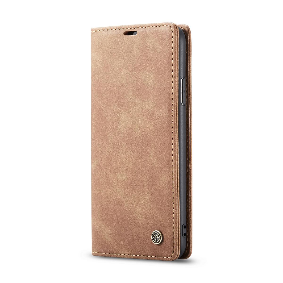CaseMe plånboksfodral, iPhone 11 Pro Max, brun