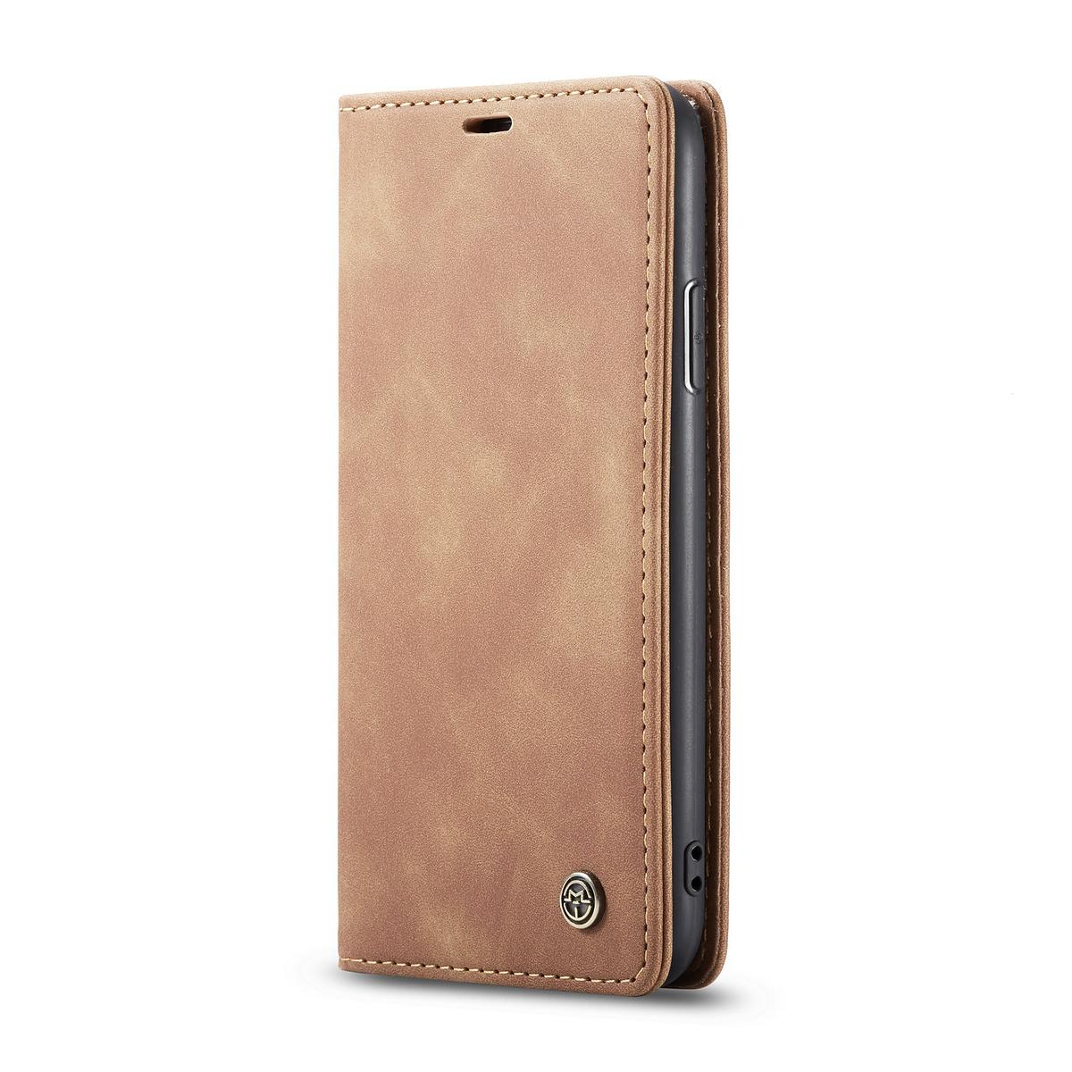 CaseMe plånboksfodral, iPhone 11, brun