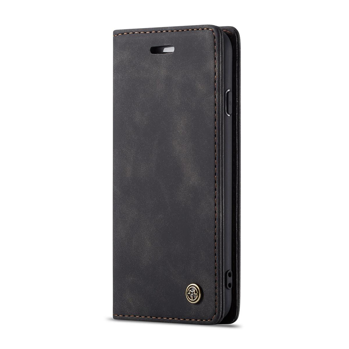 CaseMe plånboksfodral till iPhone 8/7, svart