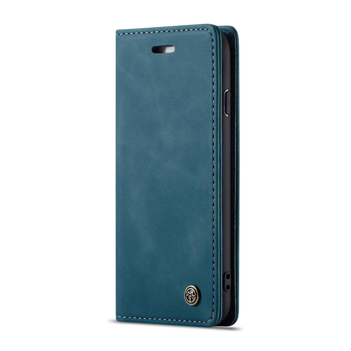 CaseMe plånboksfodral till iPhone 8/7, blå