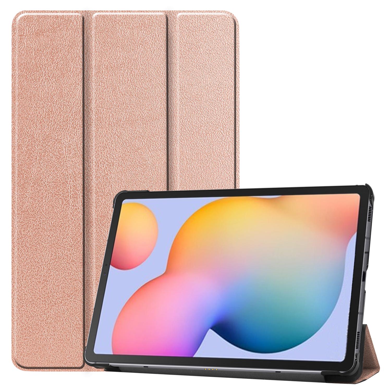 Läderfodral, Samsung Galaxy Tab S6 Lite 10.4, rosa