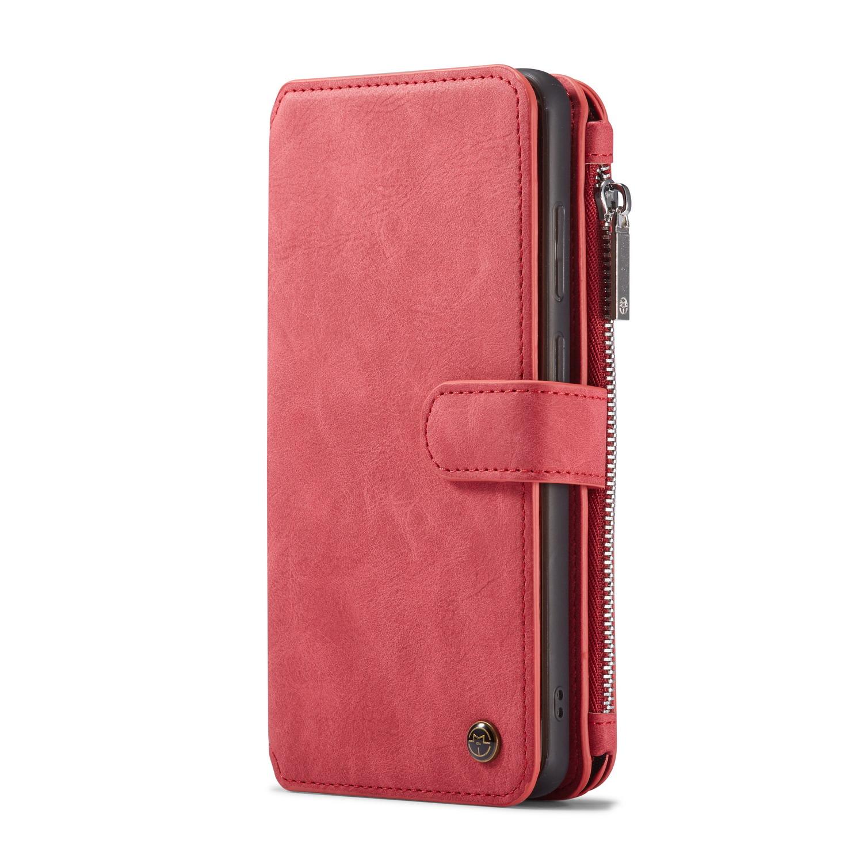 CaseMe fodral med magnetskal, Samsung Galaxy S20 Ultra, röd