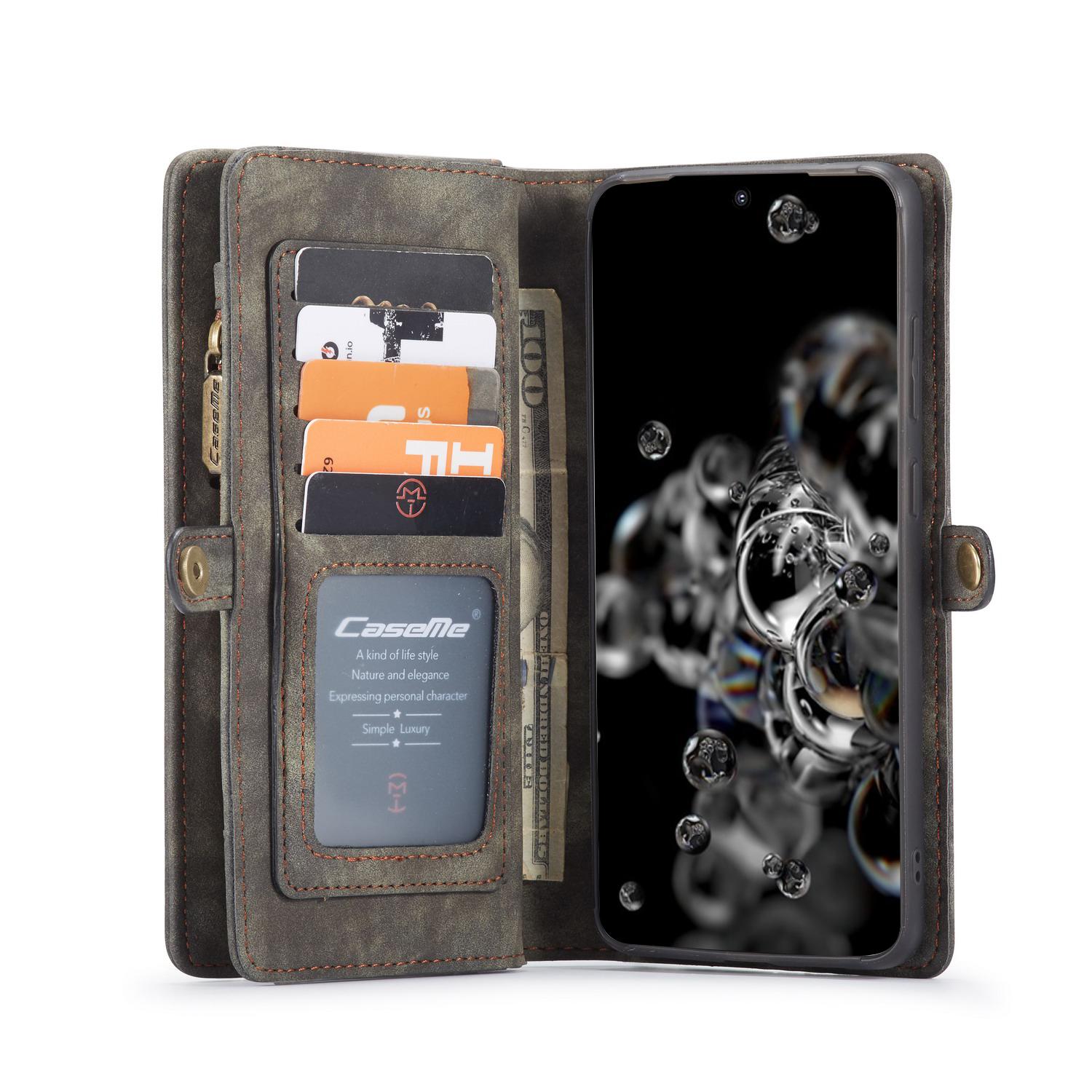 CaseMe fodral med magnetskal, Samsung Galaxy S20 Ultra, svart