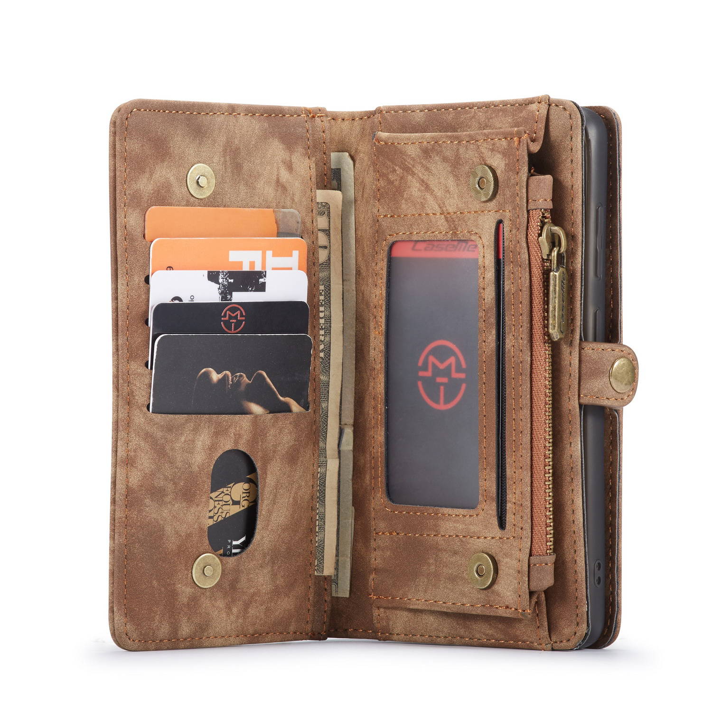 CaseMe fodral med magnetskal, Samsung Galaxy S20, brun