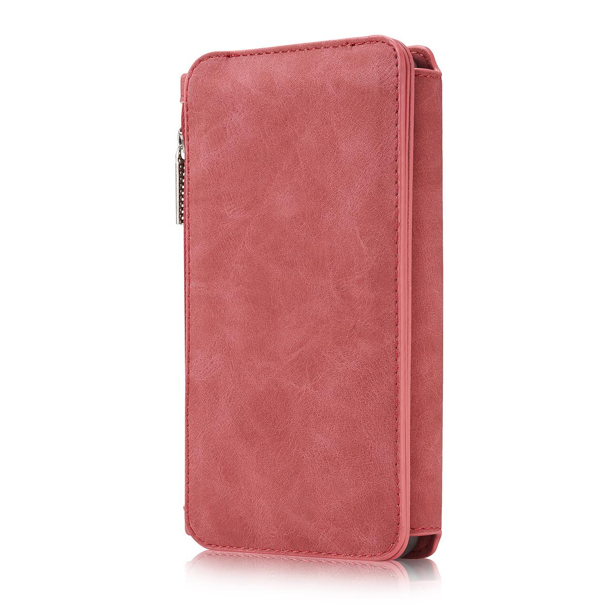 CaseMe plånboksfodral med magnetskal, Samsung Galaxy S8, röd