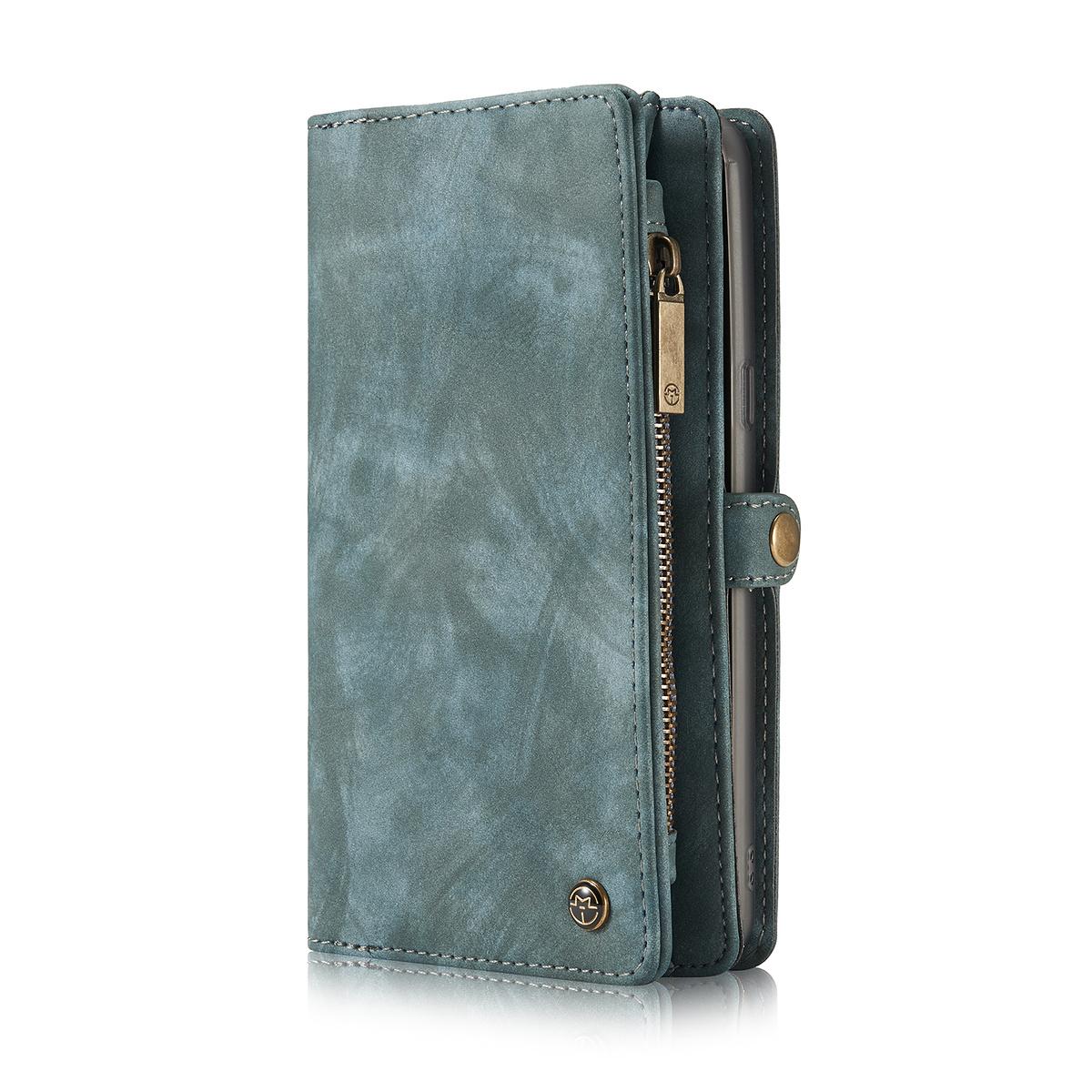 CaseMe plånboksfodral med magnetskal, Samsung Galaxy S8, blå