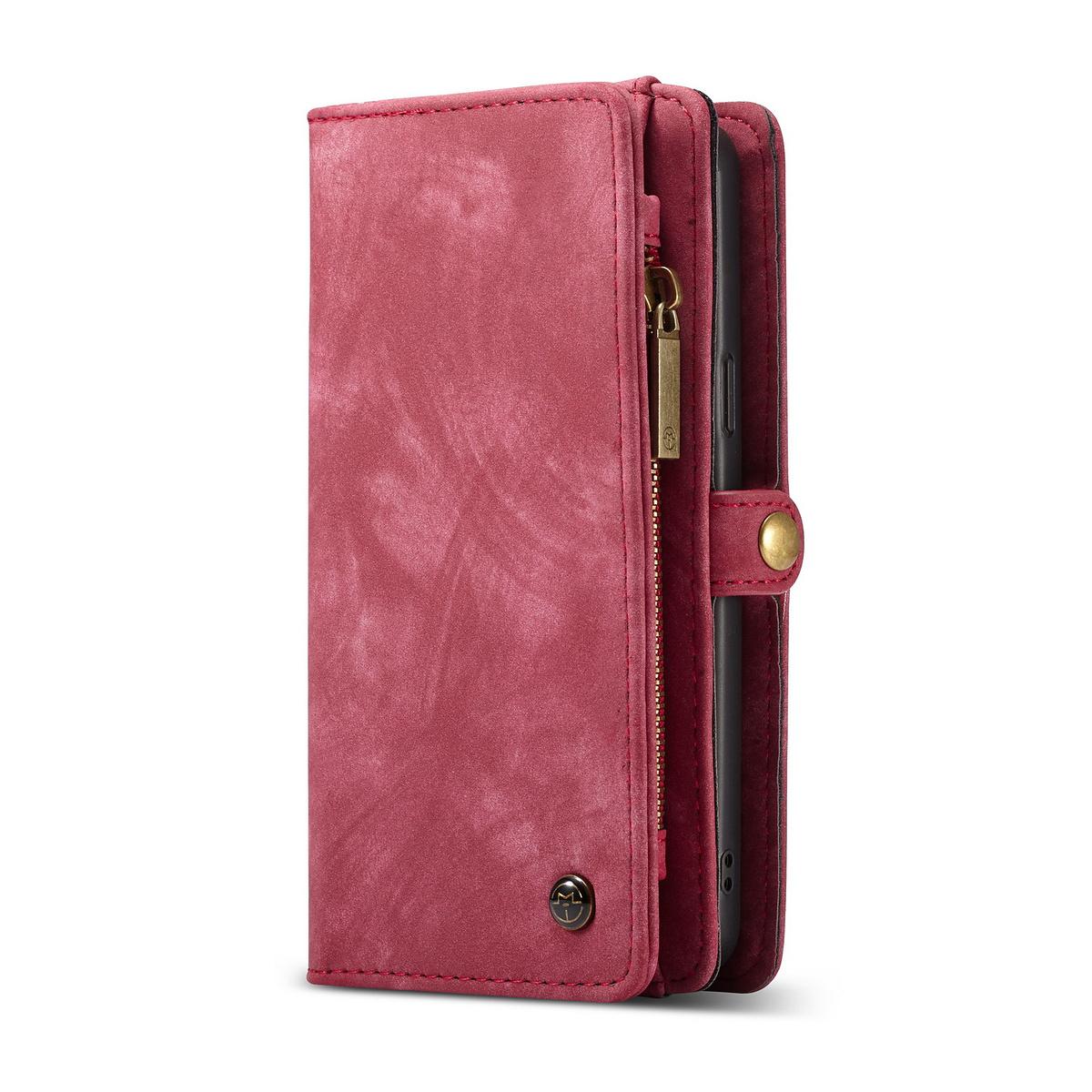 CaseMe plånboksfodral magnetskal, Samsung Galaxy S9, röd