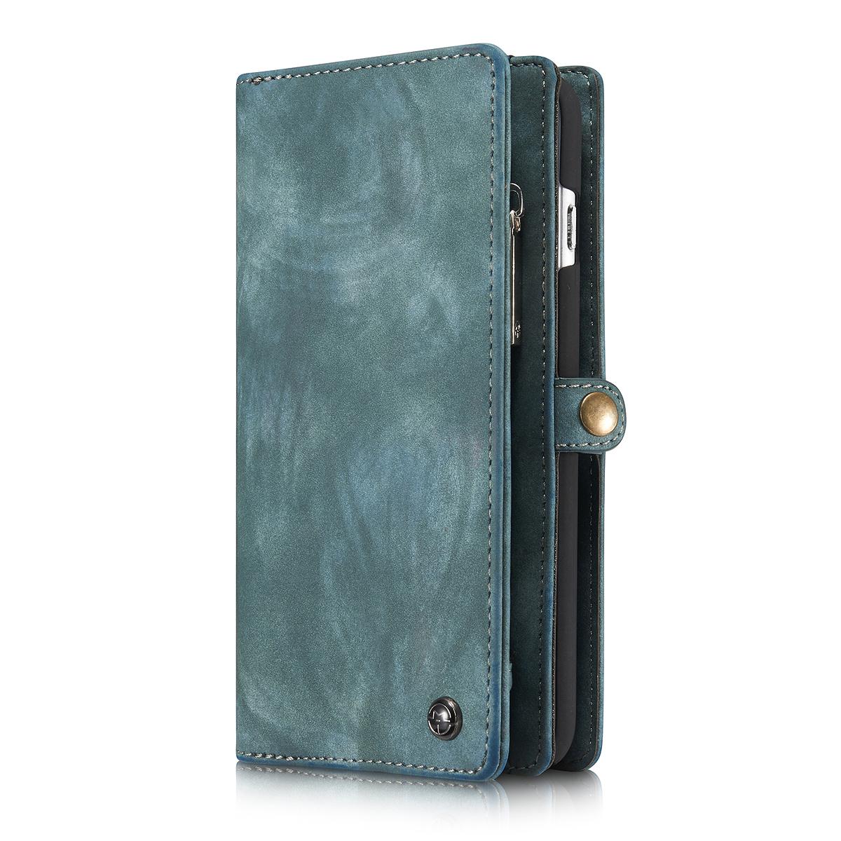 CaseMe plånboksfodral med magnetskal, iPhone 6/6S Plus, blå