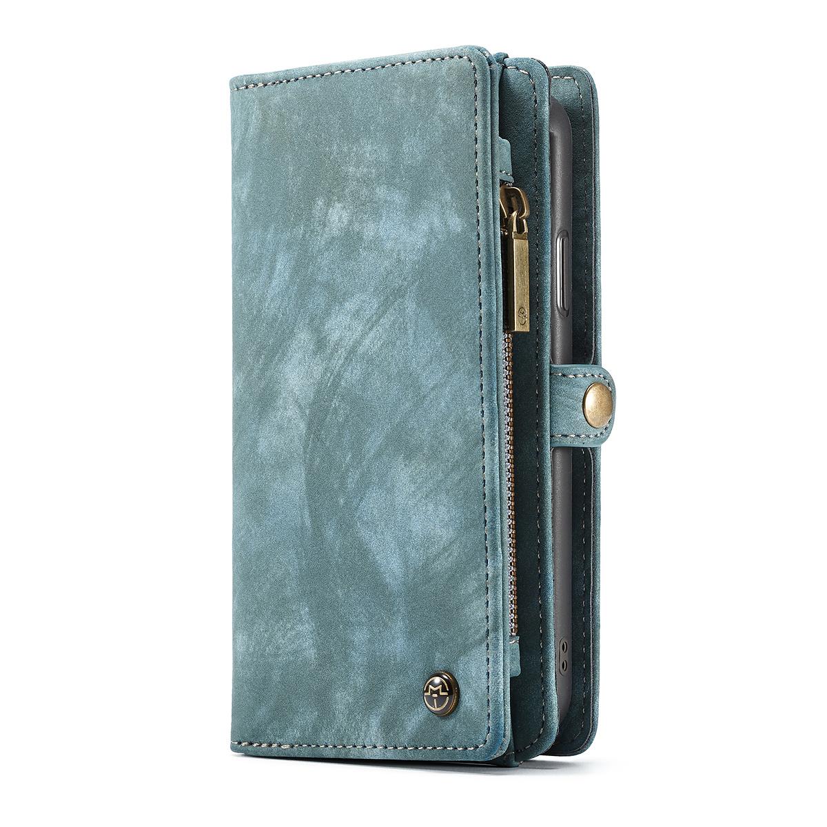 CaseMe plånboksfodral med magnetskal, iPhone XR, blå