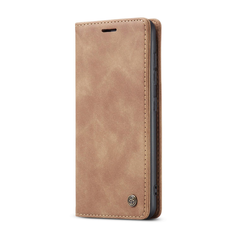 CaseMe plånboksfodral, Samsung Galaxy S20 Plus, brun