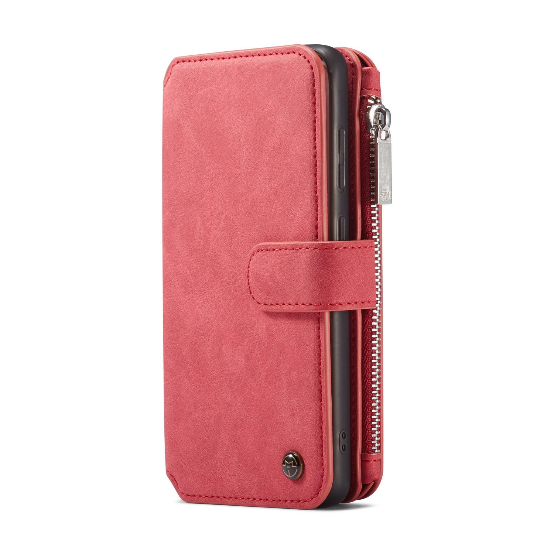 CaseMe plånboksfodral med magnetskal, Samsung Galaxy S20+, röd