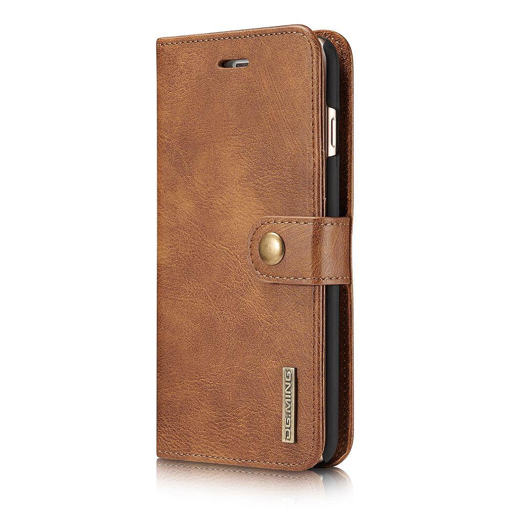 DG.MING fodral med magnetskal & ställ till iPhone 6/6S, brun