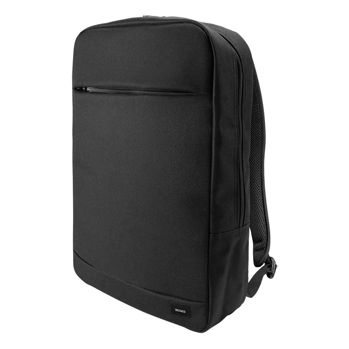 Deltaco Datorryggsäck för laptops upp till 15.6 tum, svart