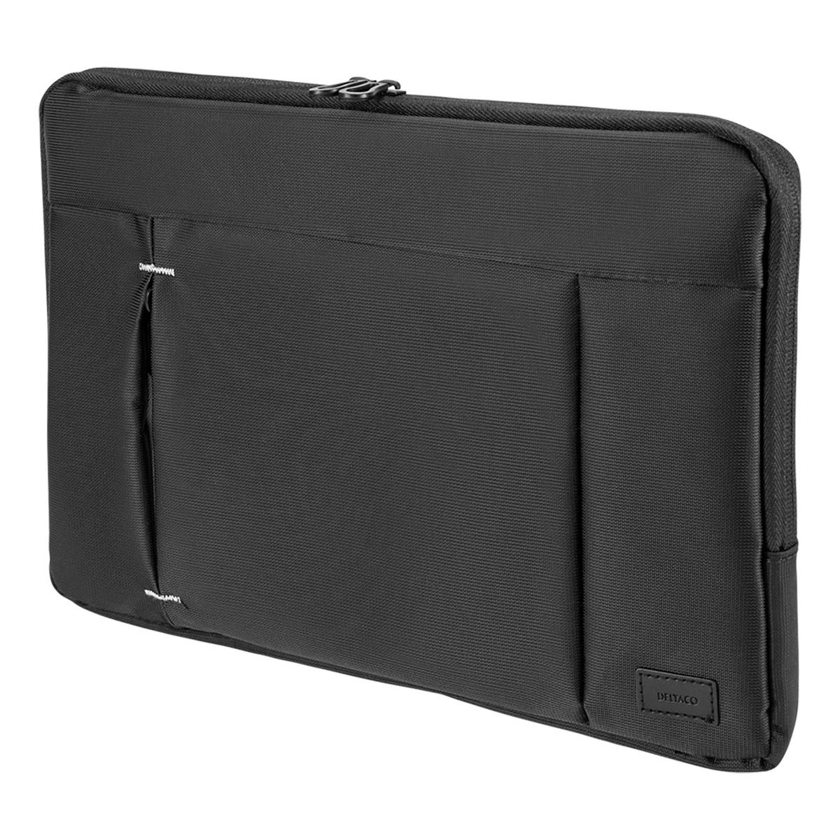 Deltaco Laptopfodral för laptops upp till 12 tum, svart