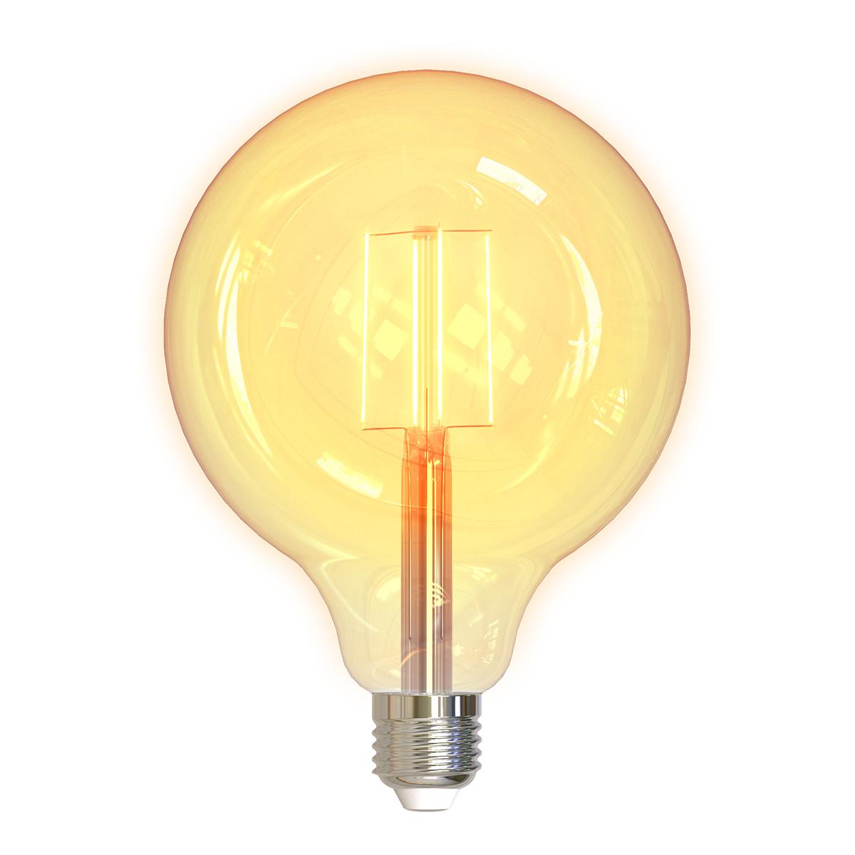 Deltaco Smart Home LED-lampa, E27, WiFi, 5.5W, dimbar