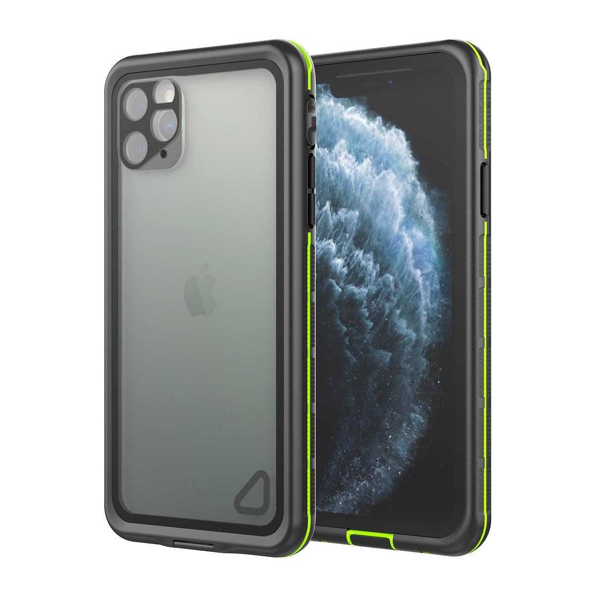 Vattentätt TPU IPX68 Skal till iPhone 11 Pro Max, svart