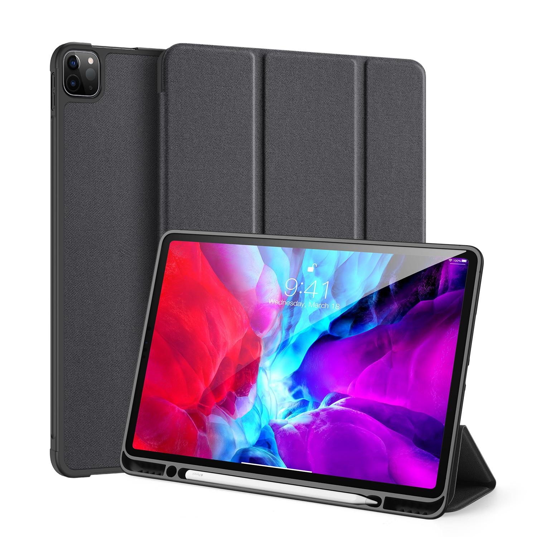 Dux Ducis Domo Series fodral till iPad Pro 12.9 (2020), svart