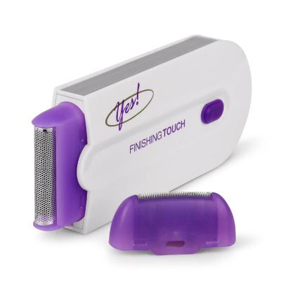 Elektrisk hårborttagare med laser, lila