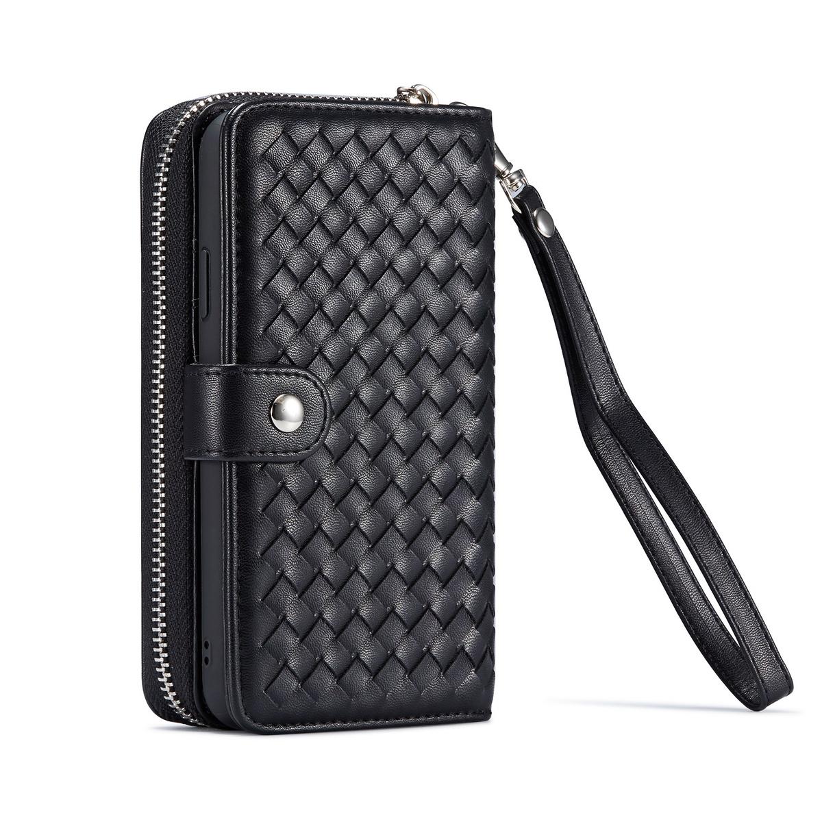 Exklusivt plånboksfodral, magnetskal, iPhone 11 Pro Max, svart