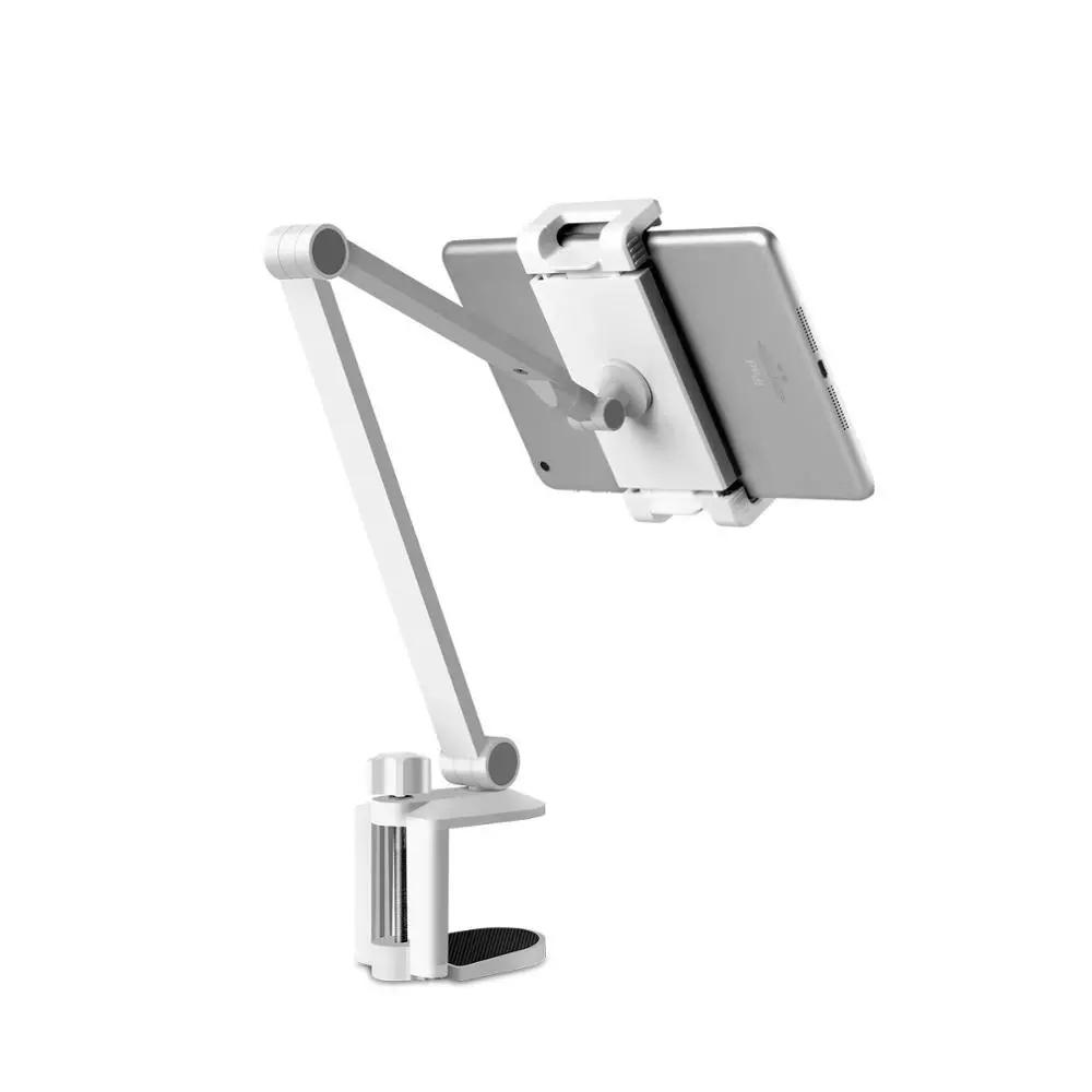 Flexibel mobilhållare för skrivbord, universal, vit