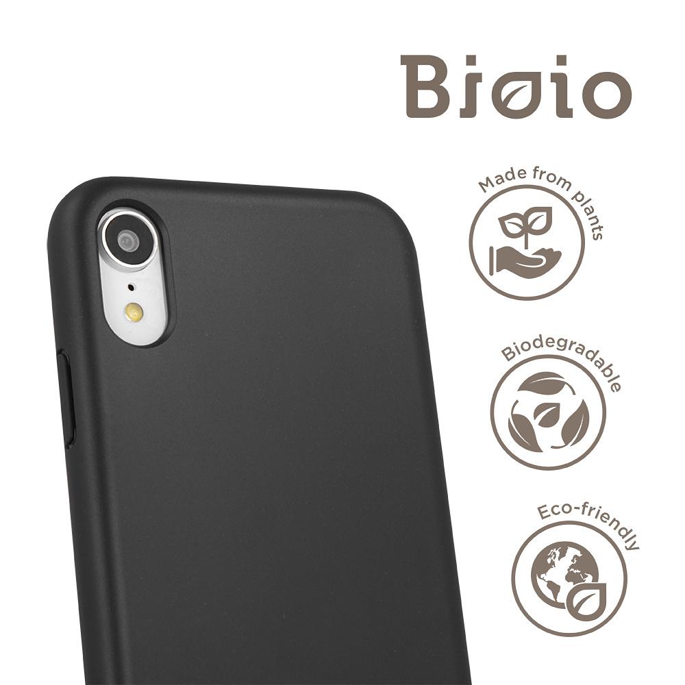 Forever Bioio Miljövänligt skal till iPhone XS Max, svart