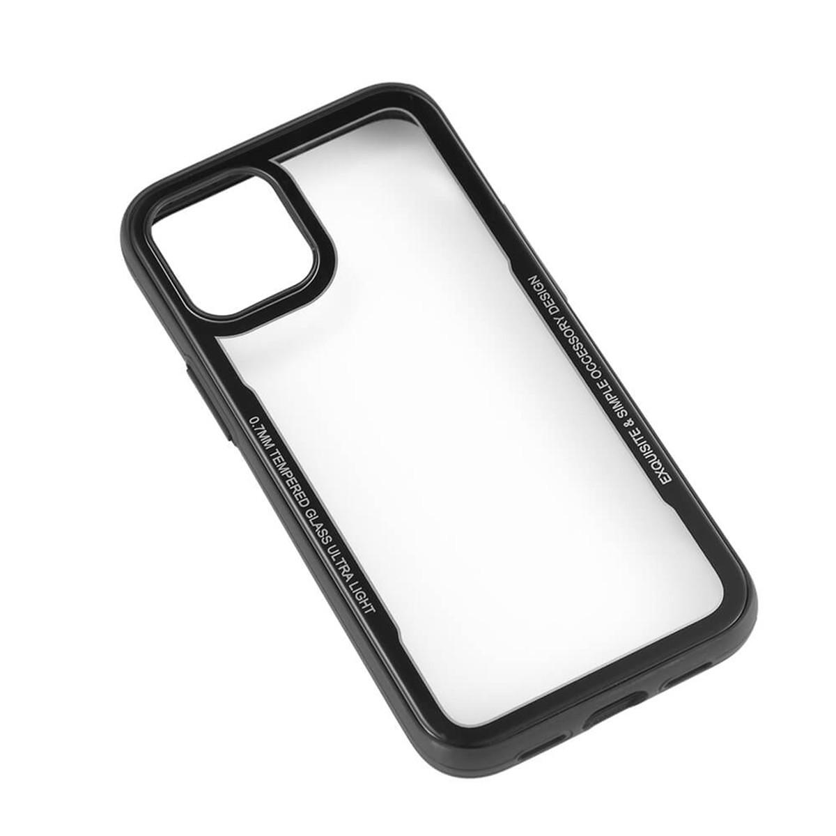 GEAR Mobilskal med härdat glas, iPhone 12 Mini