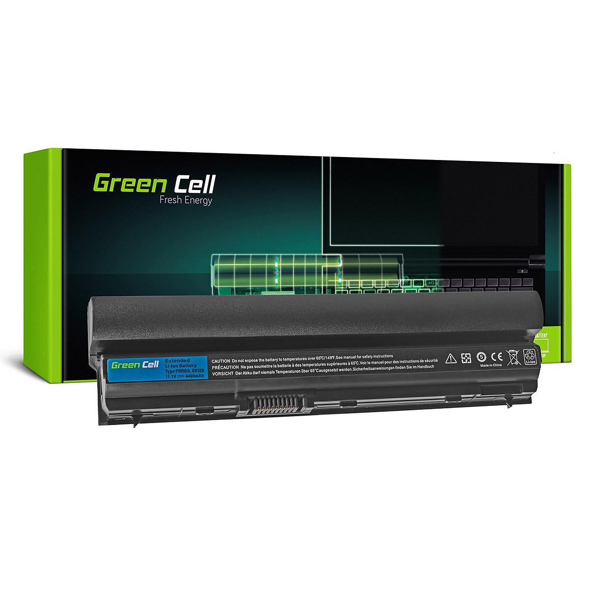 Green Cell Batteri för Dell Latitude E6230 E6320, 11.1V 4400mAh