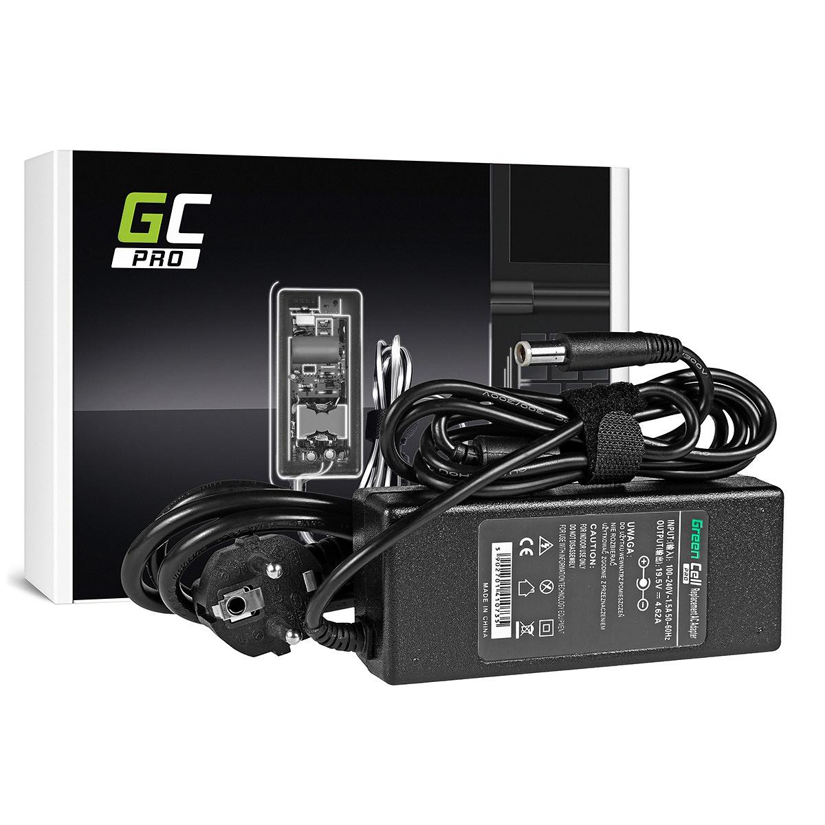Green Cell PRO laddare för Dell Inspiron 15R, 19.5V 4.62A 90W