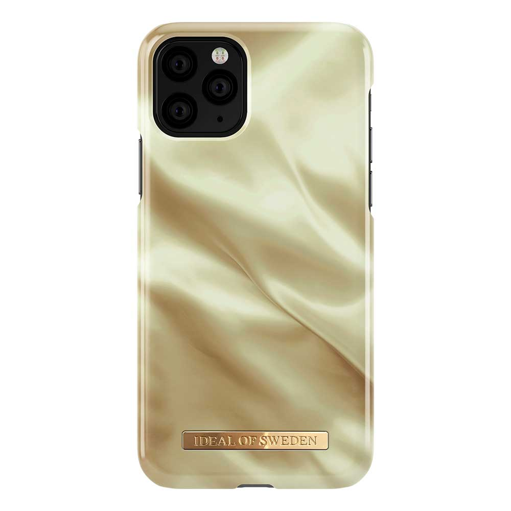 iDeal Fashion Case skal till iPhone 11 Pro/X/XS, Honey Satin