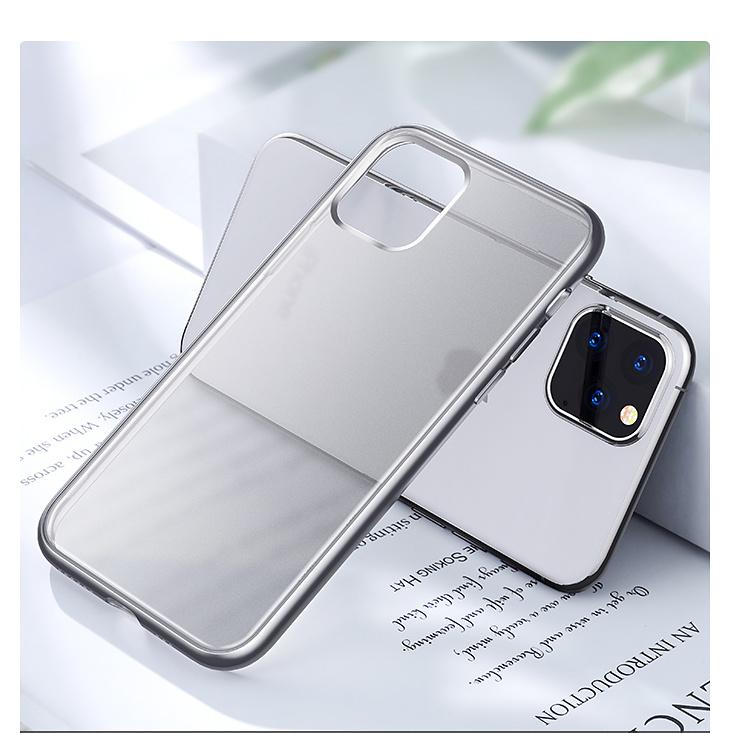 Joyroom TPU-skal, iPhone 11 Pro, transparent silver