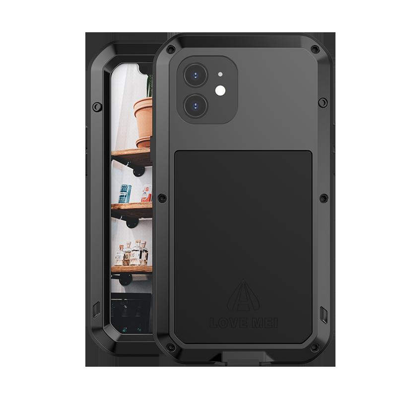 LOVE MEI Stryktåligt skyddsskal till iPhone 12