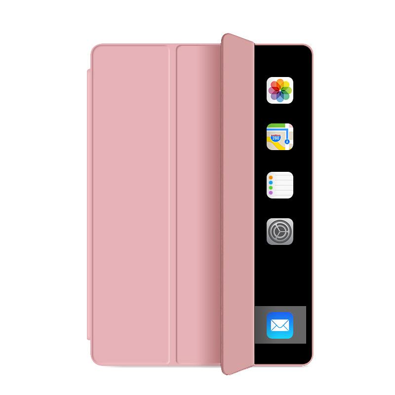 Läderfodral med ställ, iPad Pro 11, rosa