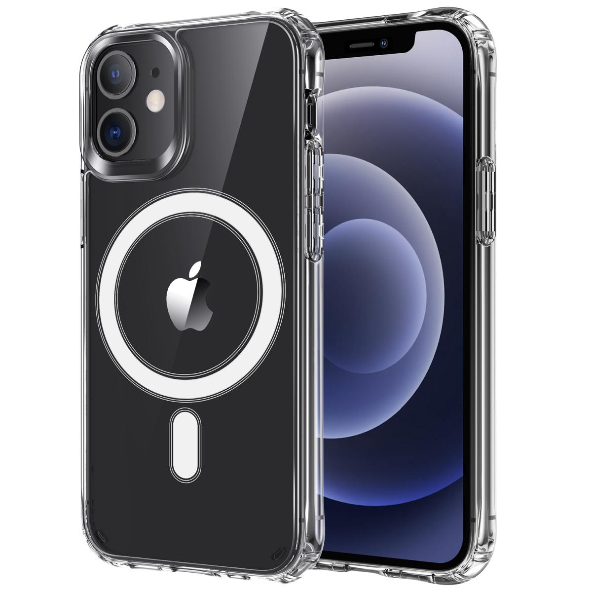 Magsafe Genomskinligt skal till iPhone 12/12 Pro, 2H