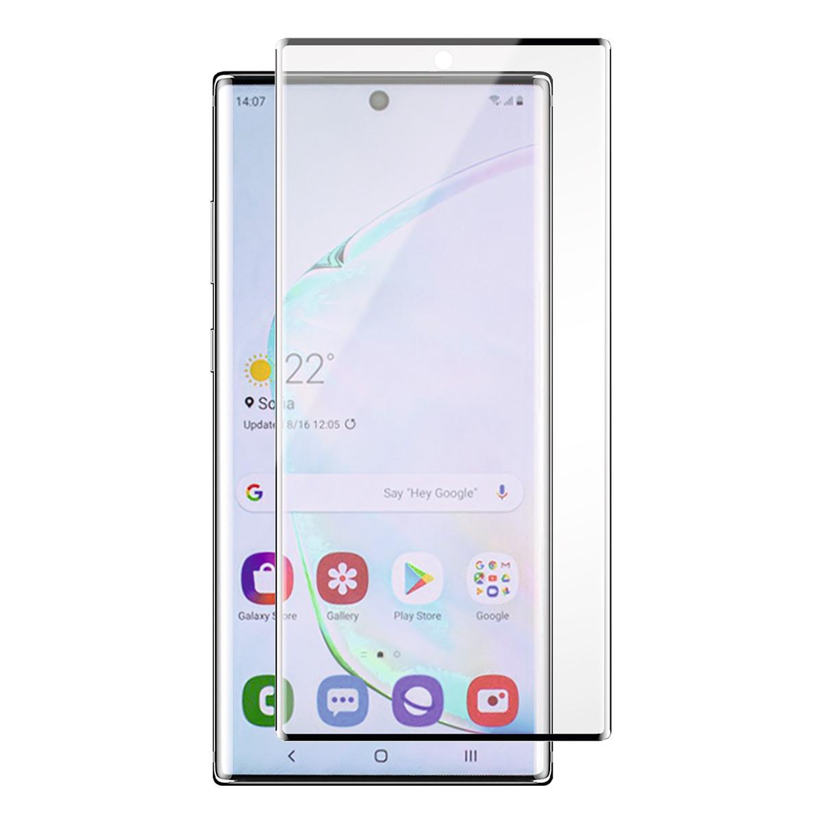 Panzer skärmskydd i härdat glas, Samsung Galaxy Note 10