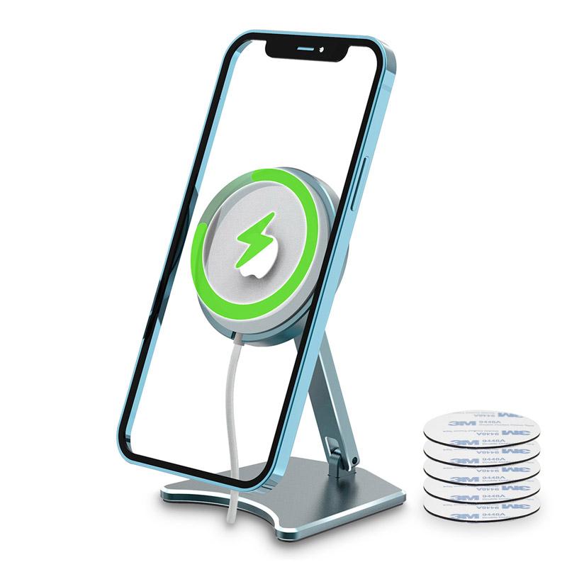 Mobilhållare för magnetisk laddare till iPhone 12 modeller