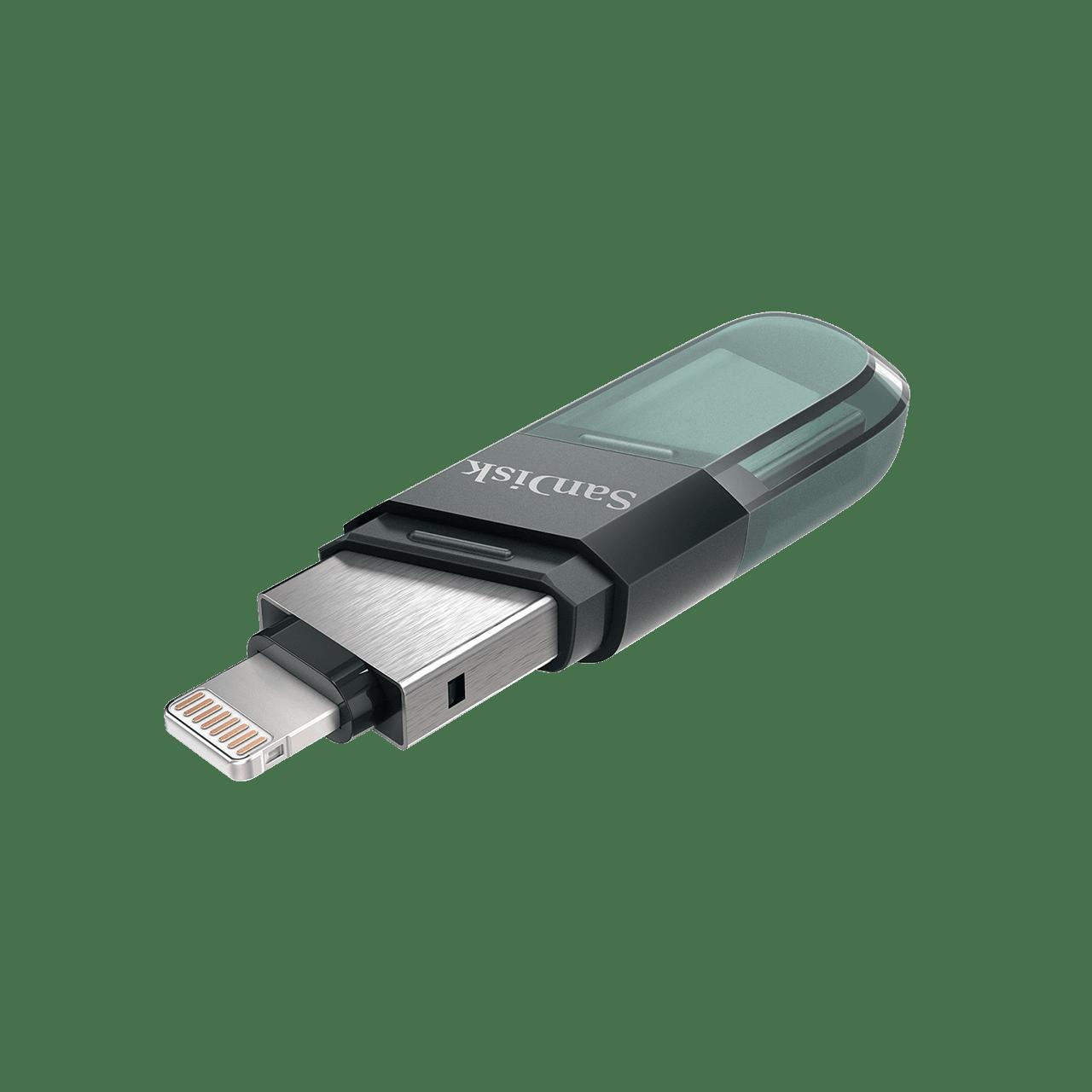 128GB SanDisk iXpand Flash Drive Flip minnessticka
