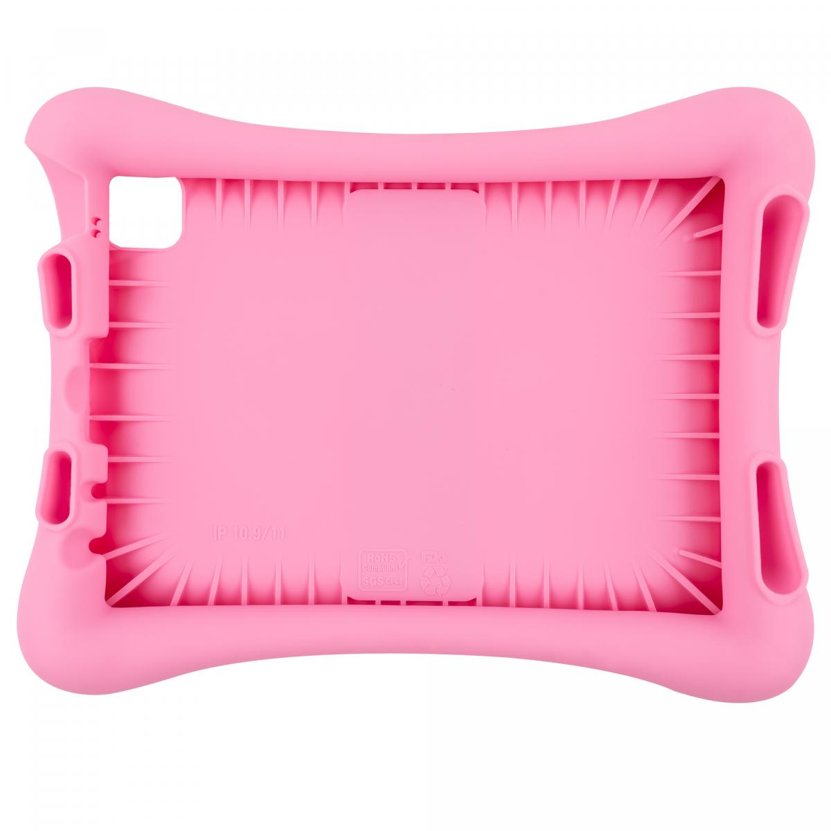 Barnfodral i silikon, iPad Air10.9/iPad Pro 11(2018-2020), rosa