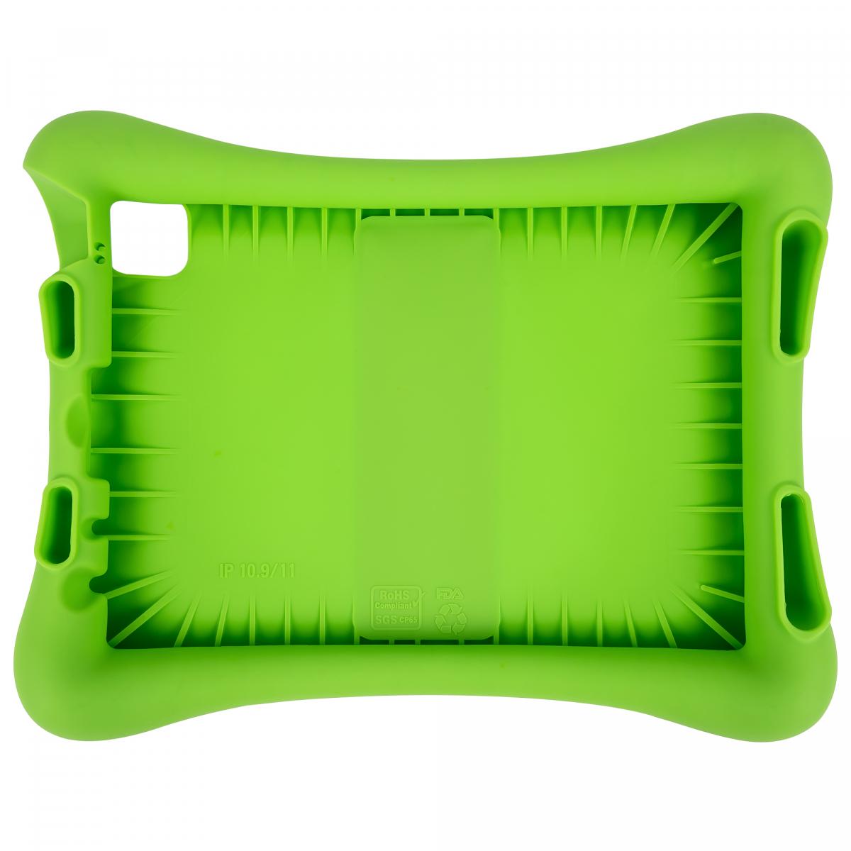 Barnfodral i silikon, iPad Air10.9/iPad Pro 11(2018-2020), grön