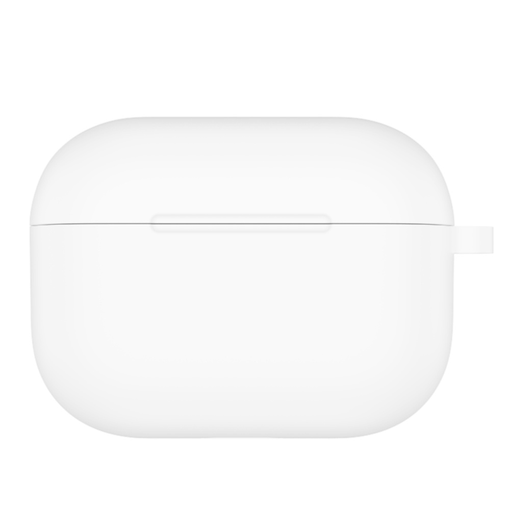 Skyddsfodral i silikon för Airpod Pro, vit