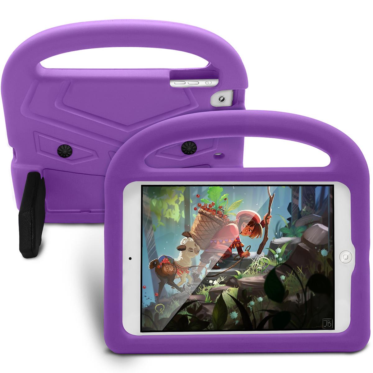 Barnfodral med ställ lila, iPad mini 2/3/4/5