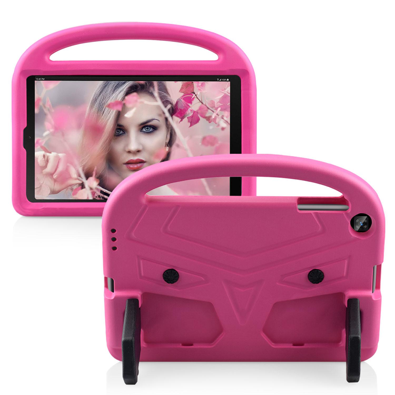 Barnfodral med ställ till Samsung Tab A 10.1 T510/515, rosa