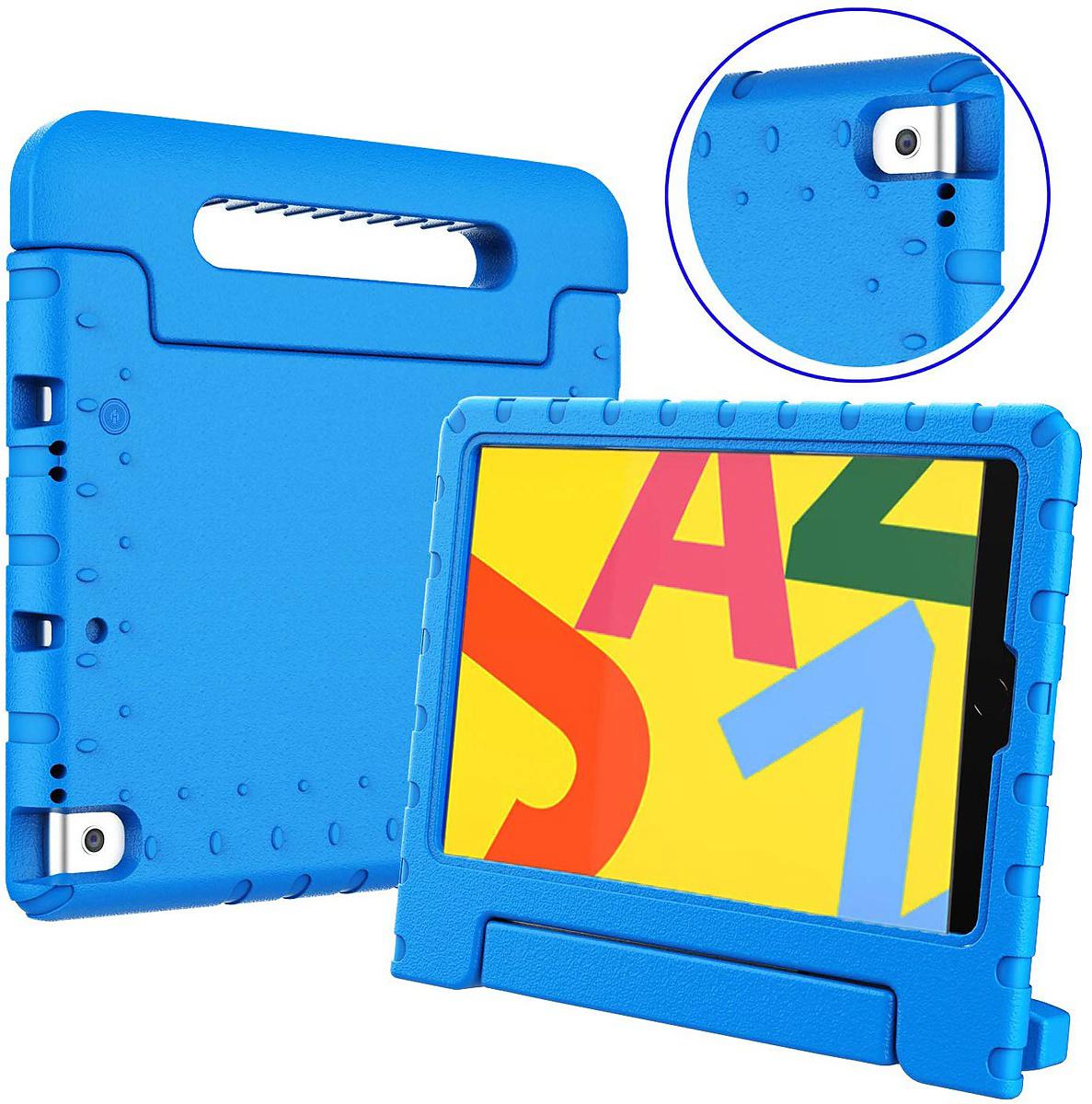 Stöttåligt barnfodral, iPad 10.2/10.5 iPad Air 3 (2019), blå