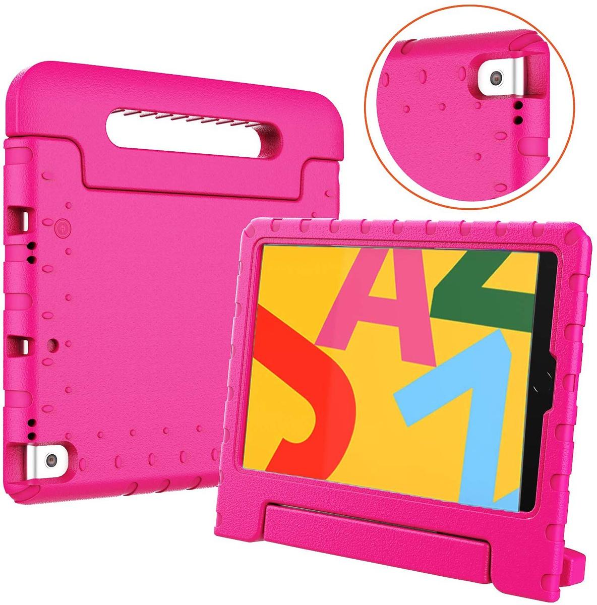 Stöttåligt barnfodral, iPad 10.2 / Pro 10.5 / Air 3 10.5, rosa