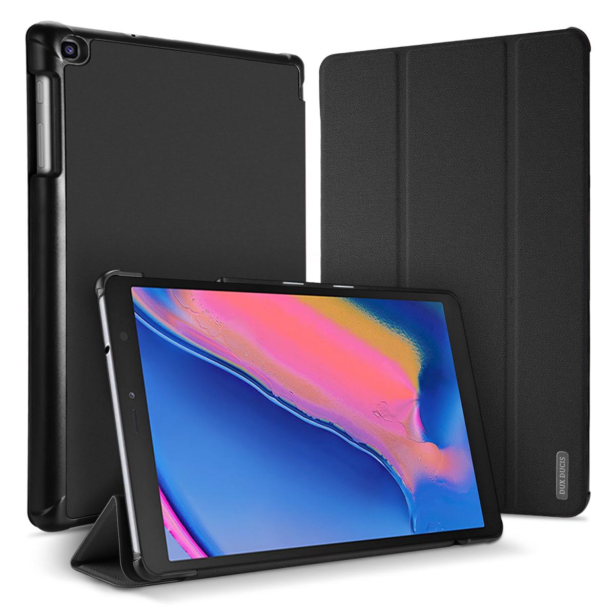 Dux Ducis Domo Series, Samsung Galaxy Tab A 8.0 (2019), svart