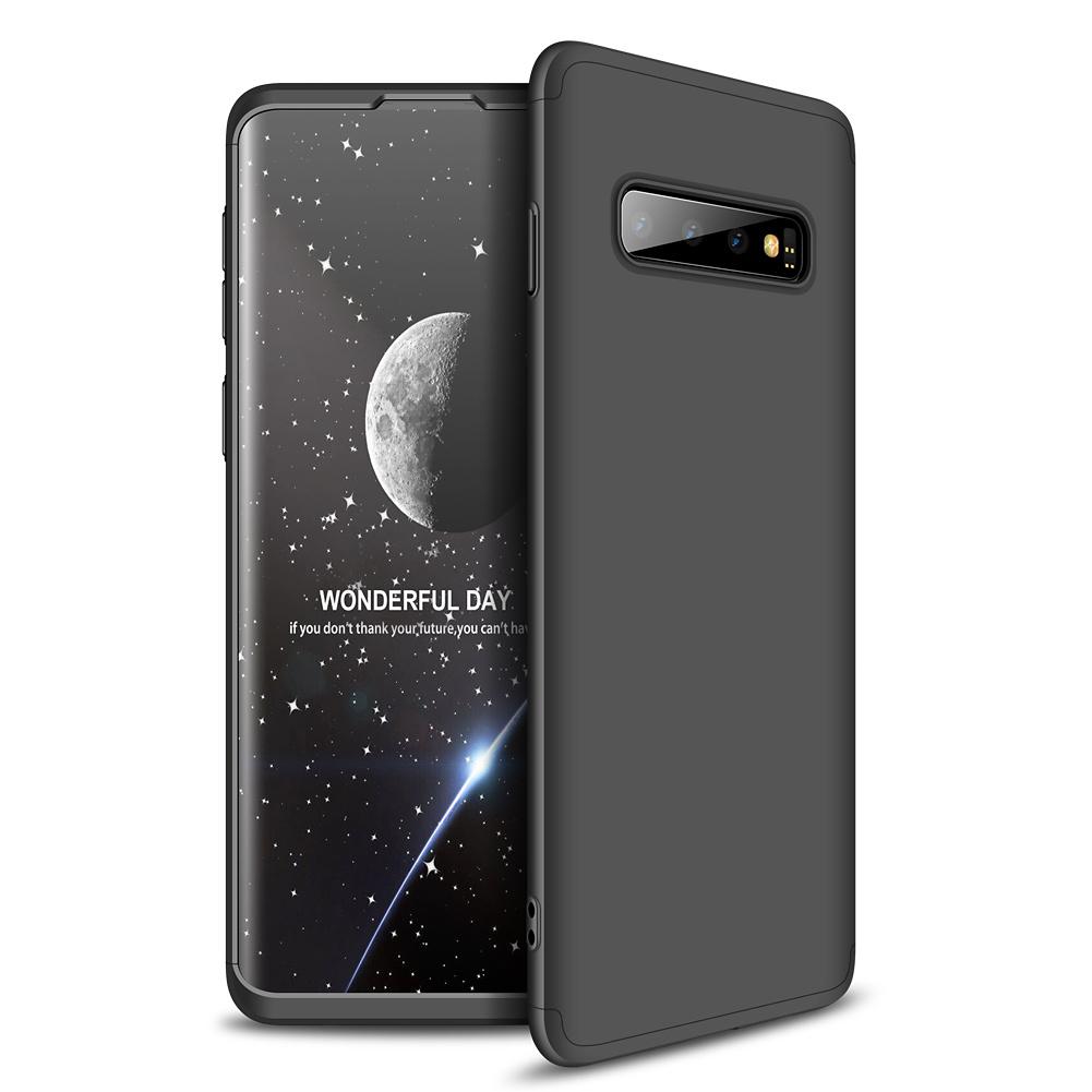 3-delat skal till Samsung Galaxy S10, svart