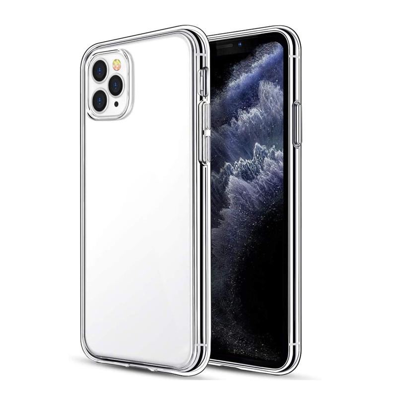 Genomskinligt TPU-skal till iPhone 12 Pro Max